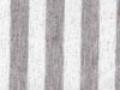 Poly Rayon Jersey Stripe Silver Foil CJ-387(22949)